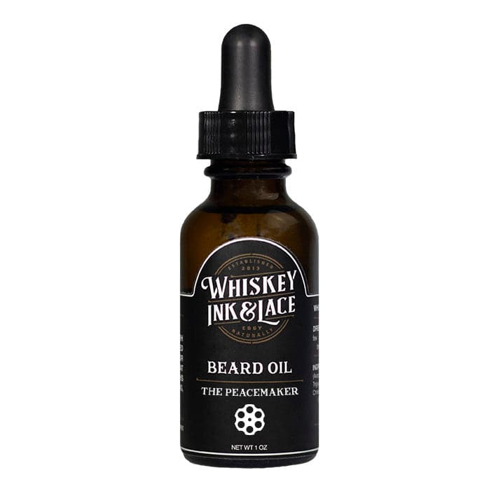 The Peacemaker Beard Oil - Limited Edition - Whiskey, Ink, & Lace