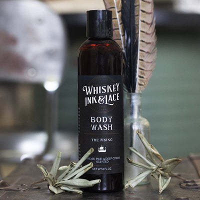 The Viking Body Wash - Whiskey, Ink, & Lace