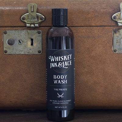 The Pirate Body Wash - Whiskey, Ink, & Lace