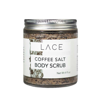 Coffee Salt Body Scrub - Whiskey, Ink, & Lace