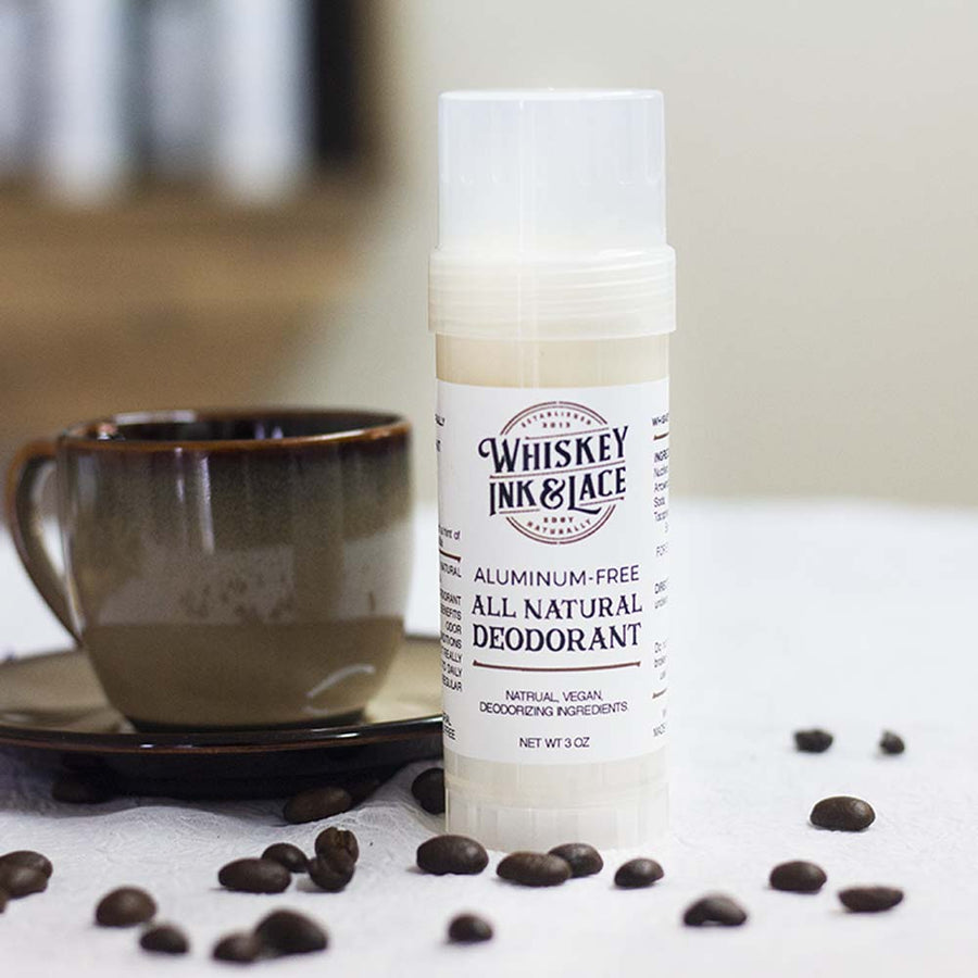 The Connoisseur Natural Deodorant - Whiskey, Ink, & Lace