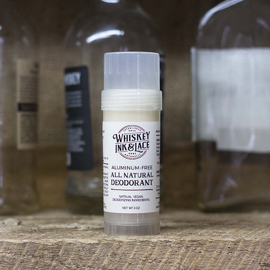 The Gent Natural Deodorant - Whiskey, Ink, & Lace
