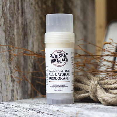 The Pirate Natural Deodorant - Whiskey, Ink, & Lace