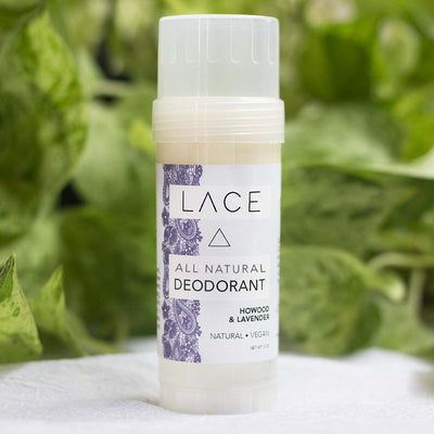 Howood & Lavender Natural Deodorant - Whiskey, Ink, & Lace