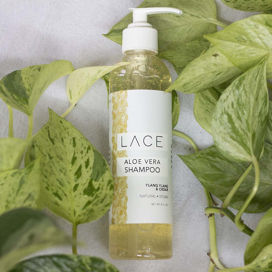 Ylang Ylang & Cedar Hair Shampoo - Whiskey, Ink, & Lace