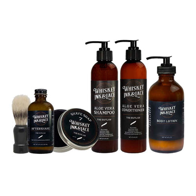 Ultimate Grooming Collection - Whiskey, Ink, & Lace