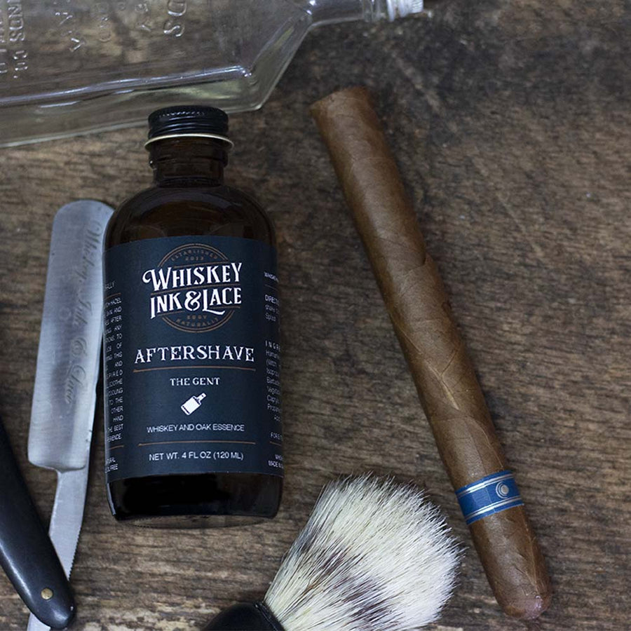 Shaving - The Gent Aftershave