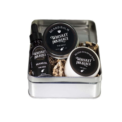 The Gent Beard Kit - Whiskey, Ink, & Lace