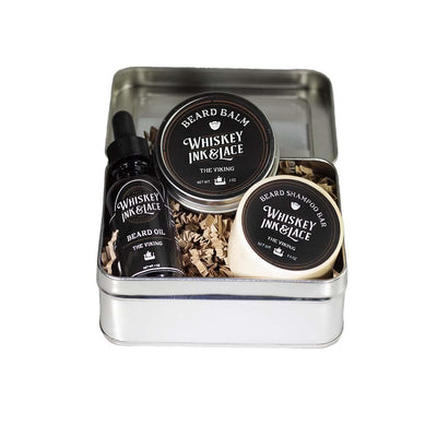 The Viking Beard Kit - Whiskey, Ink, & Lace