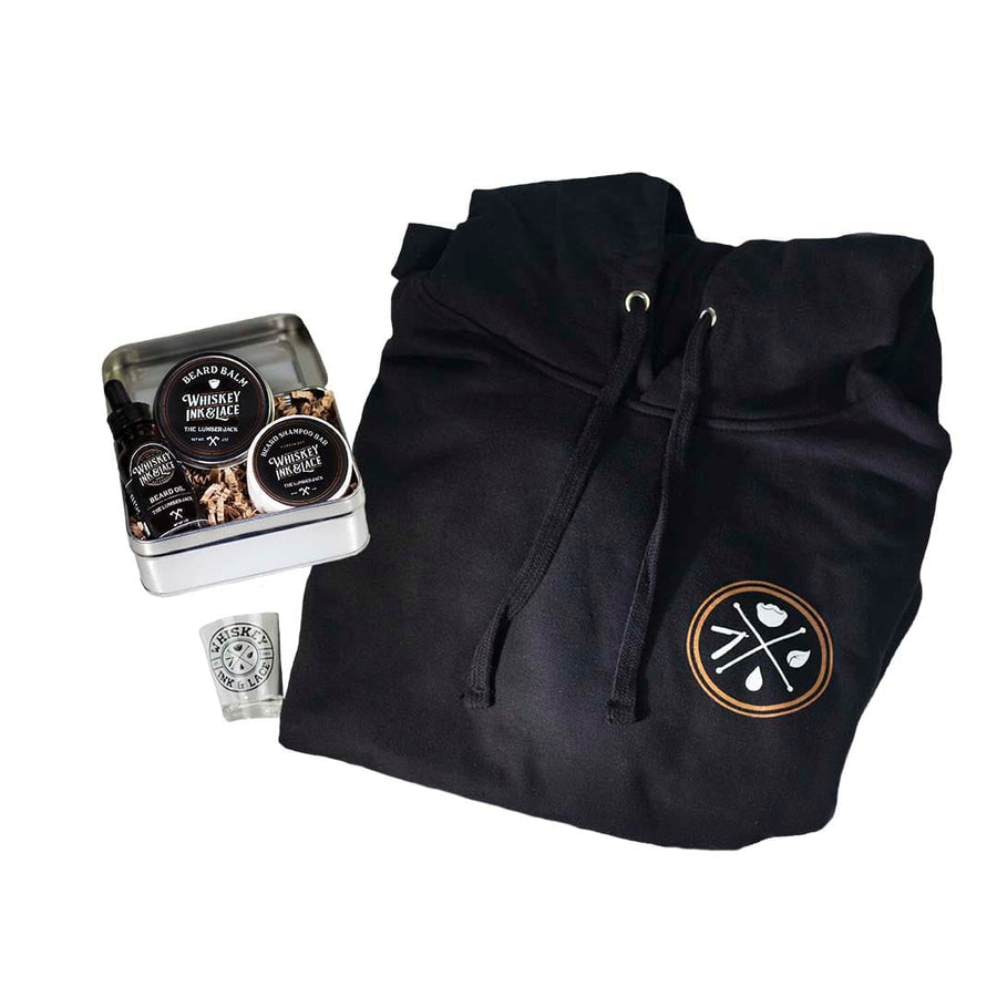 Beard Kit Gift Set - Whiskey, Ink, & Lace