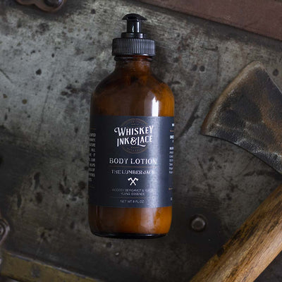 The Lumberjack Body Lotion - Whiskey, Ink, & Lace
