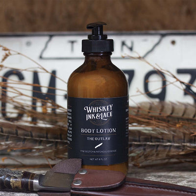 The Outlaw Body Lotion - Whiskey, Ink, & Lace