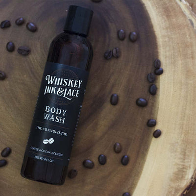 The Connoisseur Body Wash - Whiskey, Ink, & Lace