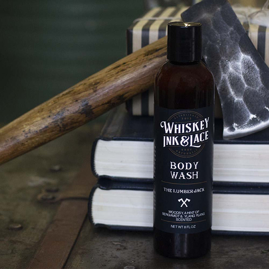 The Lumberjack Body Wash - Whiskey, Ink, & Lace
