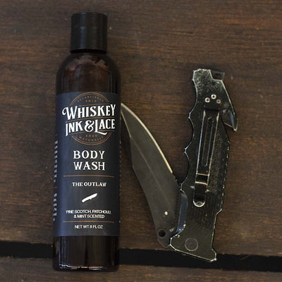 The Outlaw Body Wash - Whiskey, Ink, & Lace
