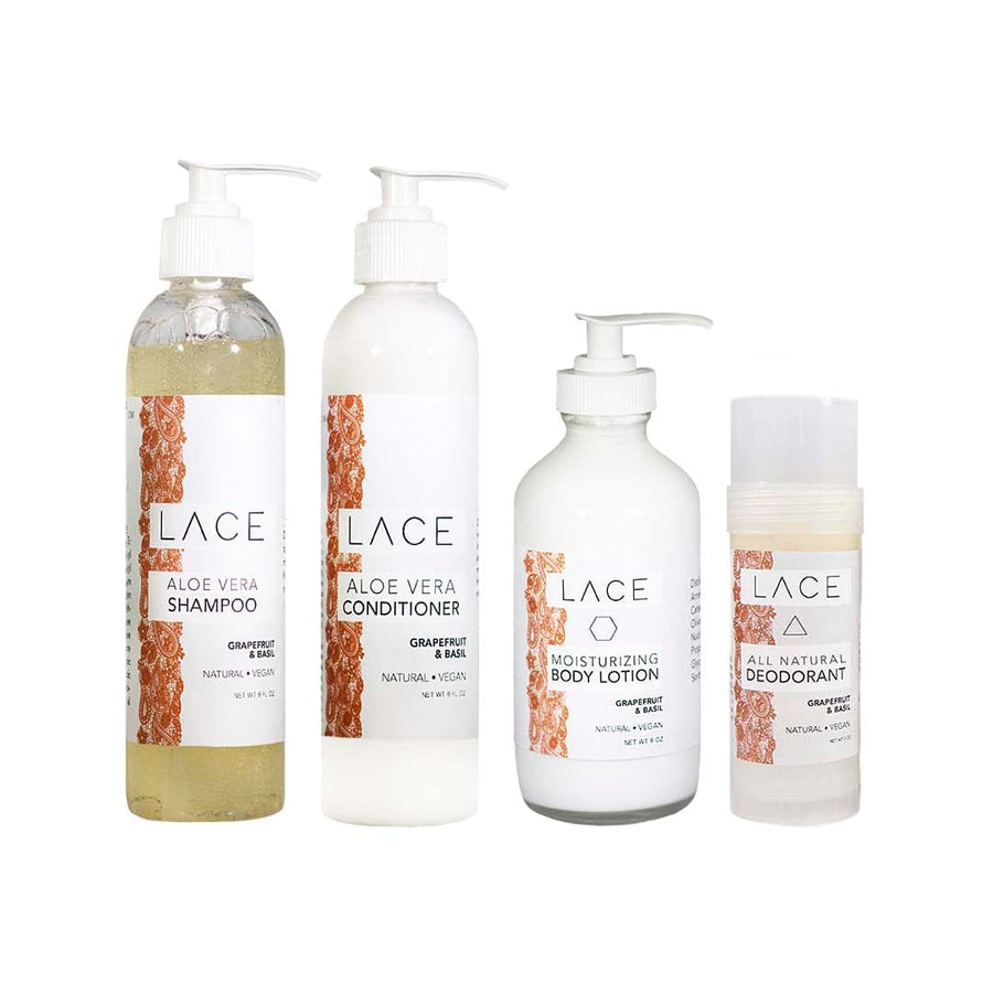 LACE Bath Bundle - Whiskey, Ink, & Lace