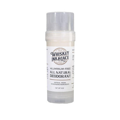 Unscented Natural Deodorant - Whiskey, Ink, & Lace