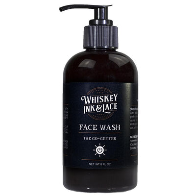 The Go-Getter Face Wash - Whiskey, Ink, & Lace