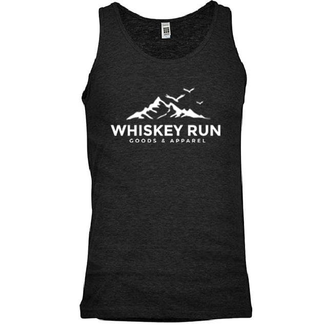 Men's Whiskey Run Classic Tri-Blend Tank Top - Whiskey, Ink, & Lace