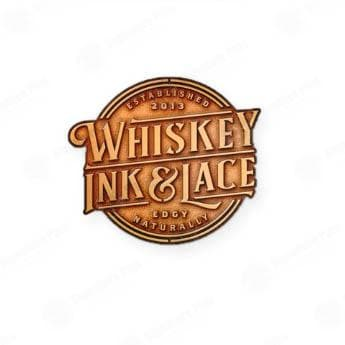 WIL Lapel Pin - Whiskey, Ink, & Lace