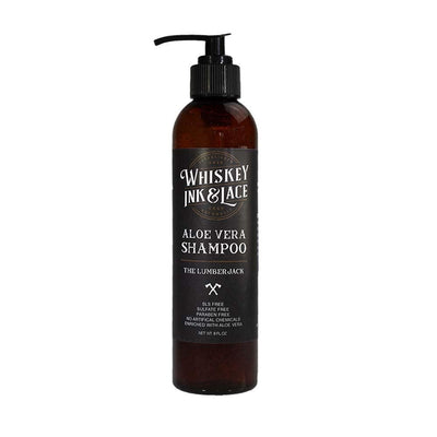 The Lumberjack Hair Shampoo - Whiskey, Ink, & Lace