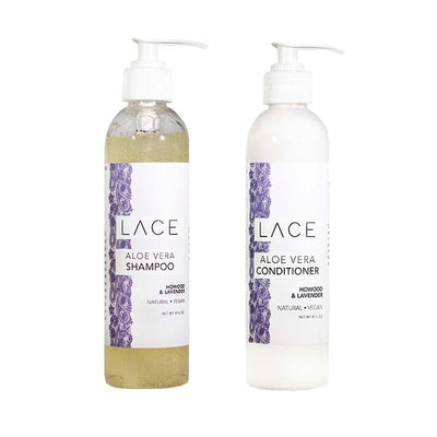 Howood & Lavender Hair Set - Whiskey, Ink, & Lace