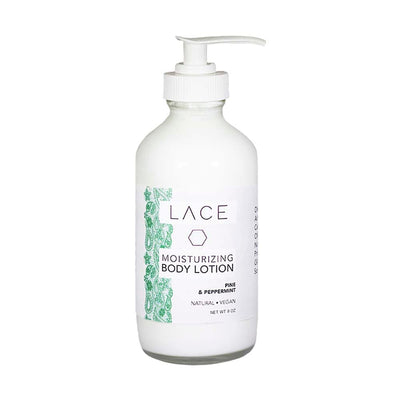 Pine & Peppermint Body Lotion - Whiskey, Ink, & Lace