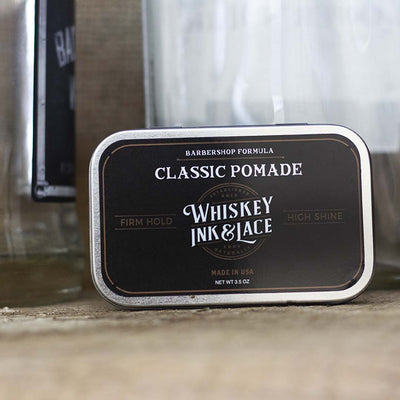 The Gent Classic Pomade - Whiskey, Ink, & Lace