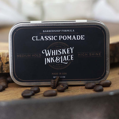 The Connoisseur Classic Pomade - Whiskey, Ink, & Lace