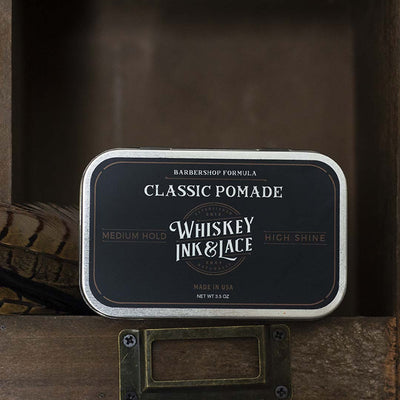 The Pirate Classic Pomade - Whiskey, Ink, & Lace