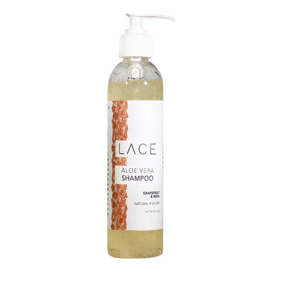 Grapefruit & Basil Hair Shampoo - Whiskey, Ink, & Lace