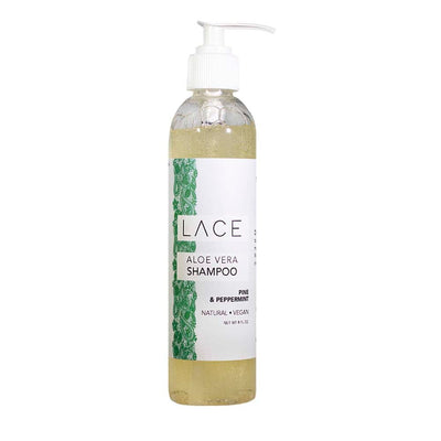 Pine & Peppermint Hair Shampoo - Whiskey, Ink, & Lace