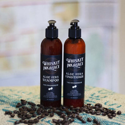 The Connoisseur Hair Set - Whiskey, Ink, & Lace