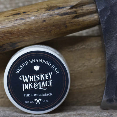 The Lumberjack Beard Shampoo Bar - Whiskey, Ink, & Lace