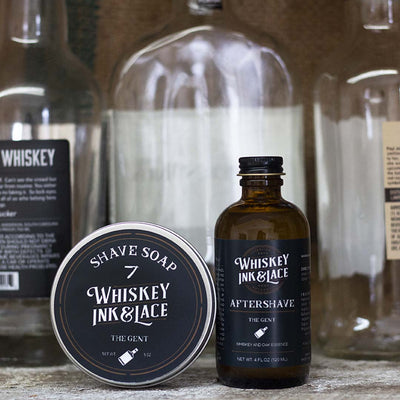 The Gent Shave Kit - Whiskey, Ink, & Lace