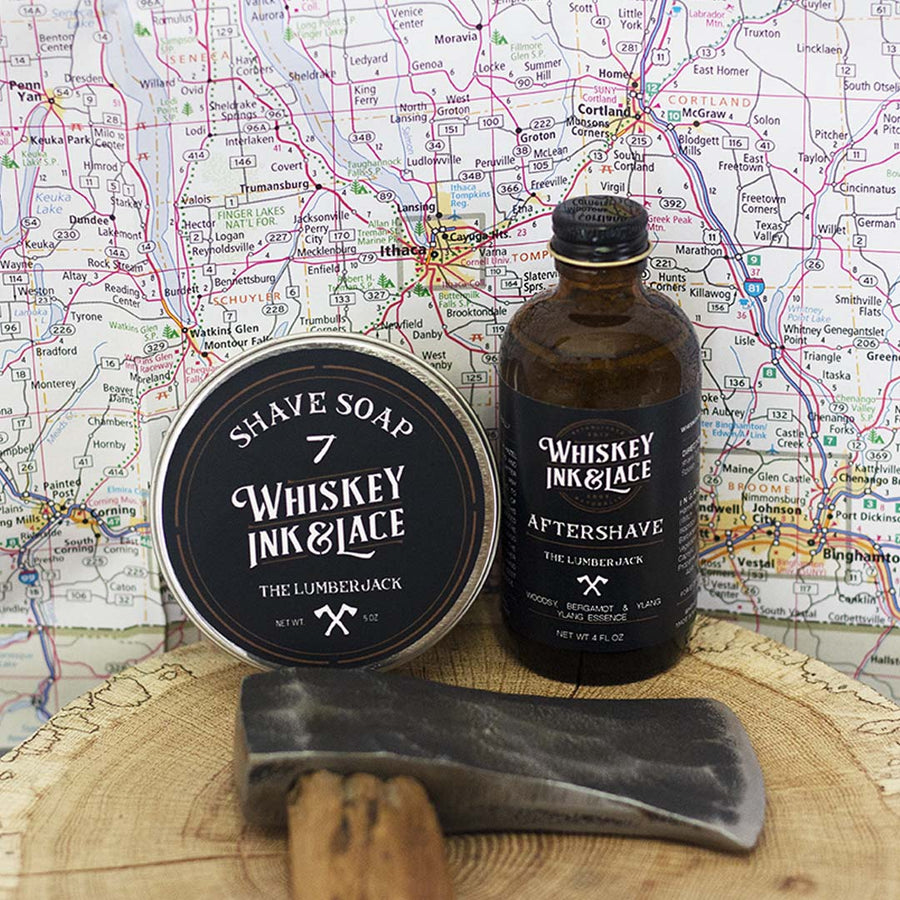 The Lumberjack Shave Kit