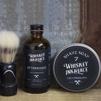 The Lumberjack Shave Kit - Whiskey, Ink, & Lace
