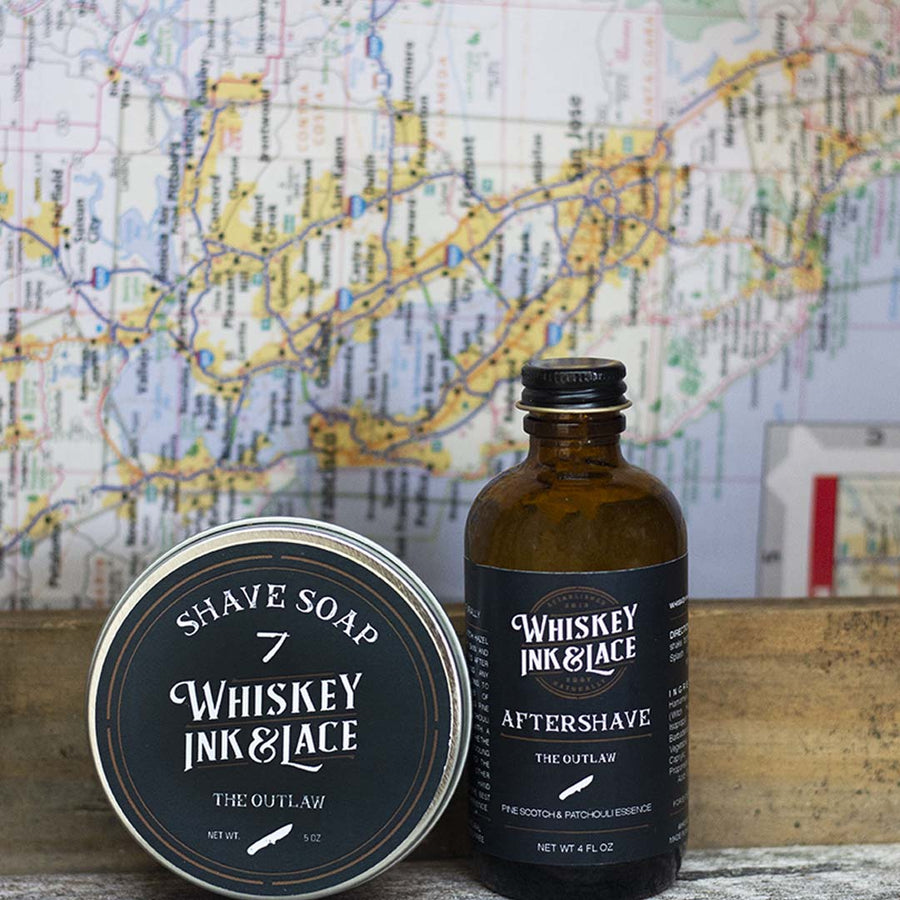 The Outlaw Shave Kit