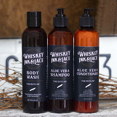 Shower Bundle - Whiskey, Ink, & Lace