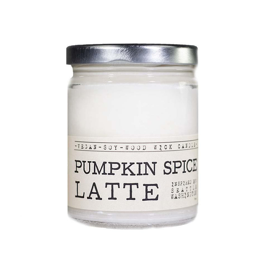 Pumpkin Spice Latte Wood Wick Candle