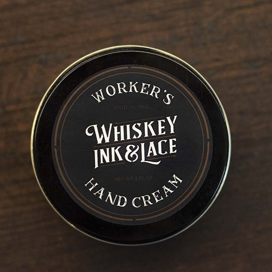 Worker's Hand Cream - Whiskey, Ink, & Lace