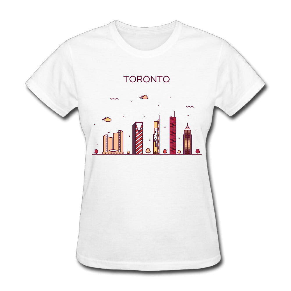 Womens I Love Toronto T-Shirt