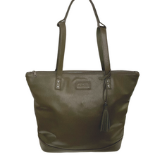 ARCH LUXE Nappy Bag - Vegan Olive