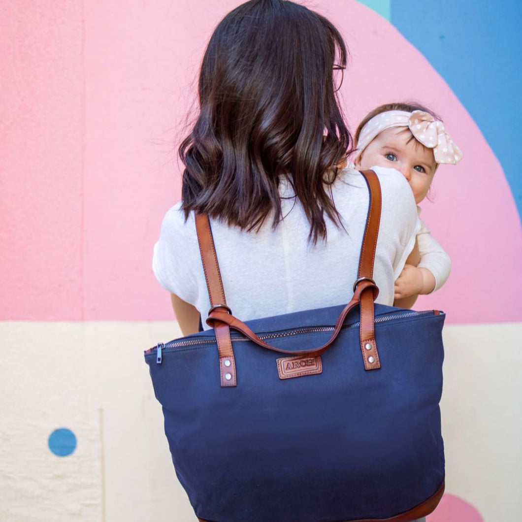ARCH LUXE Nappy Bag - Navy