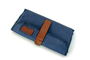 ARCH Original Nappy Bag- Navy with Vegan leather Straps