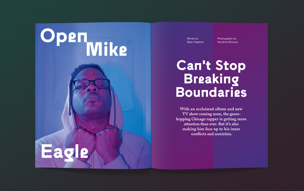 Anxy Magazine Open Mike Eagle Interview