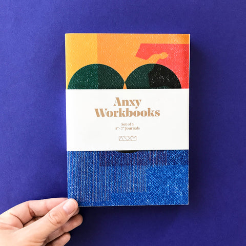 Anxy Workbook & Pencil