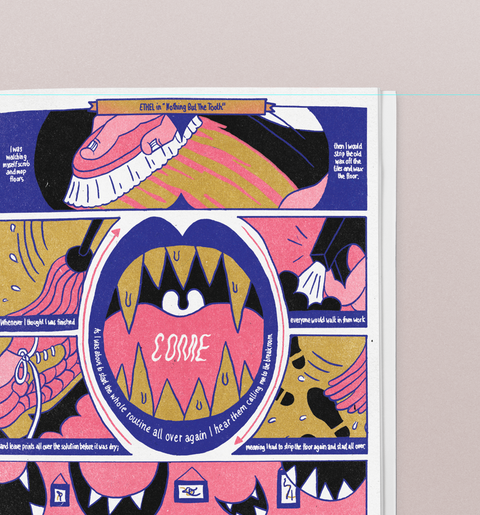 Work Dreams Zine by Chau Luong