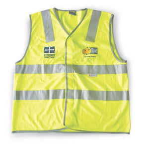 High Vis Vest with retro reflective tapes