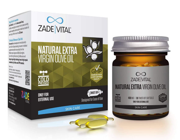 Extra Virgin Olive Oil - 30 Twist-Off Softgels